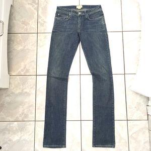 Helmut Lang Woman's Blue Denim Skinny Jeans
